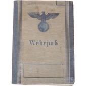 German WW2 Wehrpass