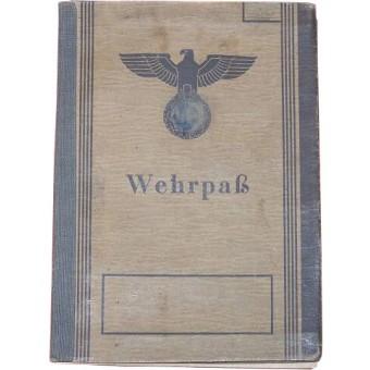 German WW2 Wehrpass. Espenlaub militaria