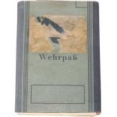 German WW2 Wehrpass owners service in WW1