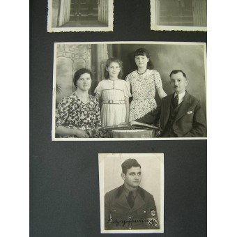 DAK photoalbum, soldier who served in Tunis. Espenlaub militaria