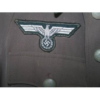 Lightweight summer Gebirgsjager Stabs-veterinaers  tunic. Espenlaub militaria