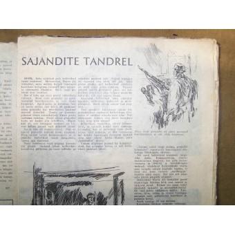 Estonian SS volunteers magazine PildiLeht. Espenlaub militaria
