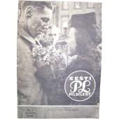 German WW2/Waffen SS Pildileht propaganda magazine, printed in Estland, 1943