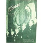 German WW2/Waffen SS propaganda magazine, Estonian language,4/1943
