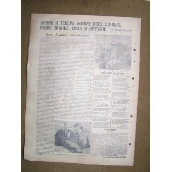 WW2 naval newspaper Baltic Submarine  22 April, 1945!!. Espenlaub militaria