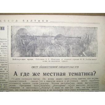 WW2 pilots  newspaper Baltic Falcon, 18 February/1945 !. Espenlaub militaria