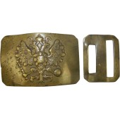 Imperial Russian belt buckle and closure hook