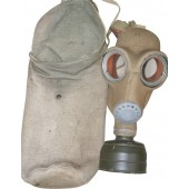 Estonian M 40 Gasmask, marked ARS 41. Rare!
