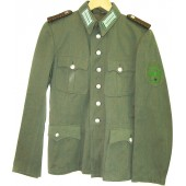 Blaumeliert cotton cloth Schutzpolizei tunic