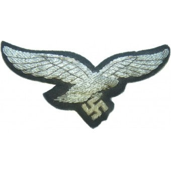 Luftwaffe officers bullion embroidered breast eagle.. Espenlaub militaria