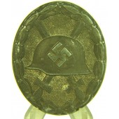 Silver wound badge, marked