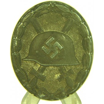Silver wound badge, marked. Espenlaub militaria