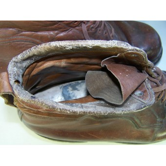 WW2 German officers or HJ Gebirgsjager boots.. Espenlaub militaria