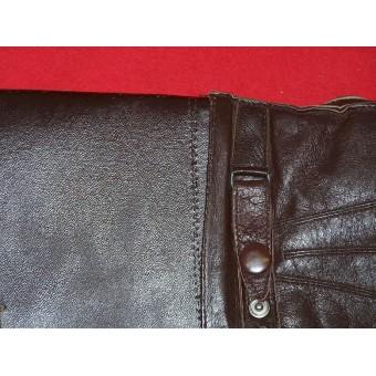 WW2 British or US leather gloves Land-lease. Espenlaub militaria