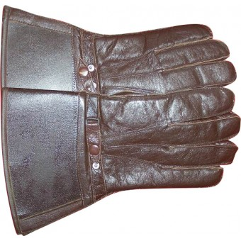 WW2 British or US leather gloves Land-lease. Espenlaub militaria