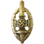 3rd Reich NSKOV members pin, Nickel, RZM M 1/52