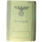 3rd Reich Wehrpass, no service