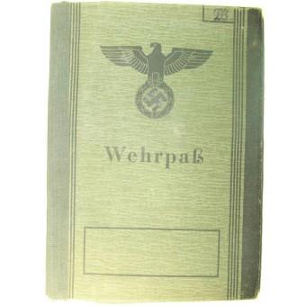 3rd Reich Wehrpass, no service. Espenlaub militaria