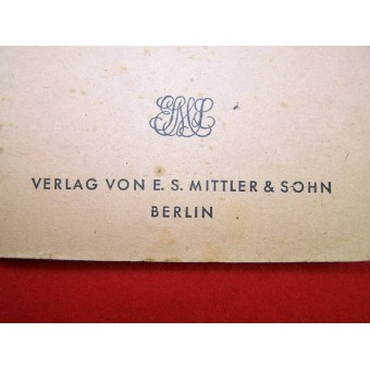 German-Russian vocabulary made in Berlin in 1941. Espenlaub militaria