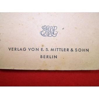 German-Russian vocabulary made in Berlin in 1941. Espenlaub militaria