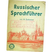 German-Russian vocabulary made in Lepzig in 1941