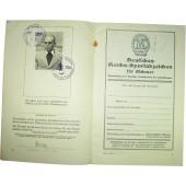 Reichs- Sportabzeichen document