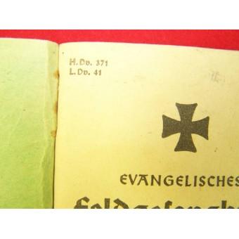 Soldiers evangelisches song book. Espenlaub militaria