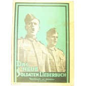 Soldiers military songs book- Green nr 1