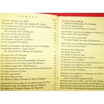 Soldiers military songs book nr 3. Espenlaub militaria
