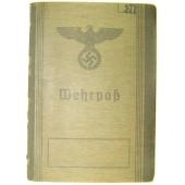 Wehrmacht Wehrpass WW1 service in Telegraf Battalion 1and then 1914-1916 in Fernsprech Ers Abt 4