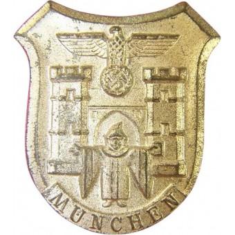 WHW badge Muenchen, marked m 9/11 RZM. Espenlaub militaria