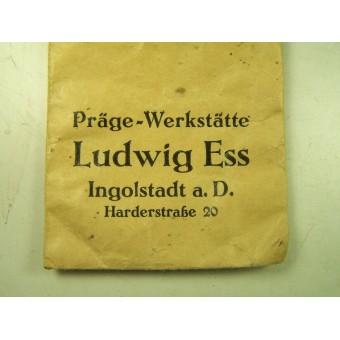 Award envelope factory Ludwig Ess. Espenlaub militaria