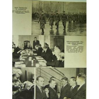 German WW2/Waffen SS propaganda magazine. Espenlaub militaria