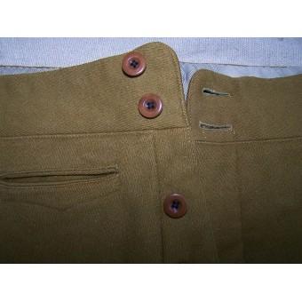 Lightweight summer cotton NSDAP breeches. Espenlaub militaria