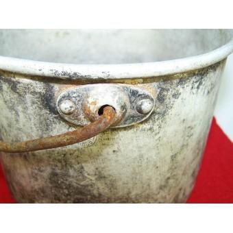 Round M 27 messkit, aluminum, pre-war dated!!. Espenlaub militaria