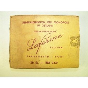 WW2 German period made tobacco unopened pack. Espenlaub militaria