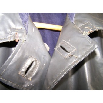 WW2 NAVY or Navy infantry combat raincoat. Espenlaub militaria