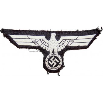 Wehrmacht Heer Second type of the breast eagle for panzer truppe. Espenlaub militaria