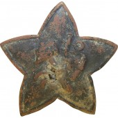 M18 Red Star cockade for headgear