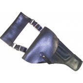 Navy black RKVMF leather holster for TT pistol