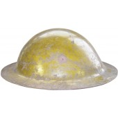 Rare blockade made Soviet MK I like, steel helmet