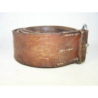 RKKA NCOs leather waist belt, early pre-war made. Espenlaub militaria
