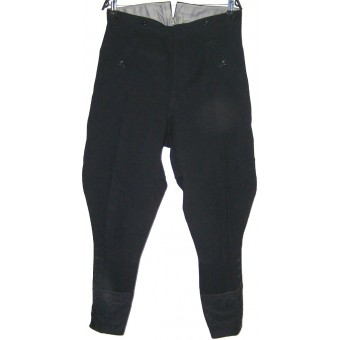 Black SS VT or Allgemeine SS or NSKK breeches