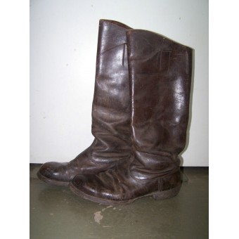 Imperial Russian dark brown leather officer's boots. Espenlaub militaria