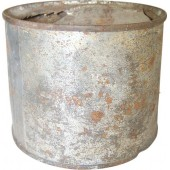 Pre-war or early ww2 made meat can.