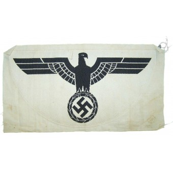 Wehrmacht Heer eagle for sports shirt, unissued, variant #1. Espenlaub militaria