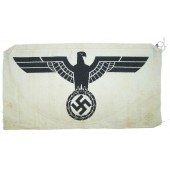 Wehrmacht Heer eagle for sports shirt, unissued, variant #1