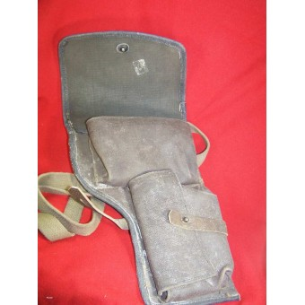 WW2 Soviet Flare pistol holster. Mint condition. Marked, dated 1944. Espenlaub militaria