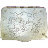 WW2 Trench Art. Cigarette Case