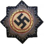 German cross in gold, embroidered version, 2nd type unissued